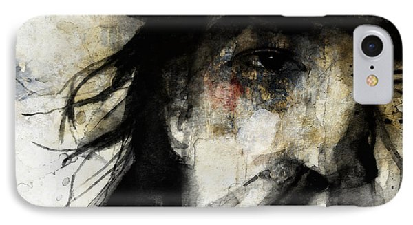 Stevie Ray Vaughan Retro IPhone Case by Paul Lovering