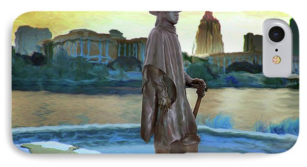 Stevie Ray Vaughan Statue - Austin, Tx IPhone Case by Steve Ellison