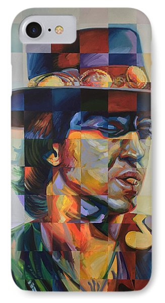 Stevie Ray Vaughan IPhone Case by Steve Hunter