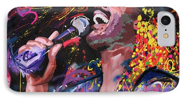 Stevie Wonder IPhone Case by Richard Day