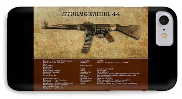 Stg 44 Sturmgewehr 44 IPhone Case by John Wills