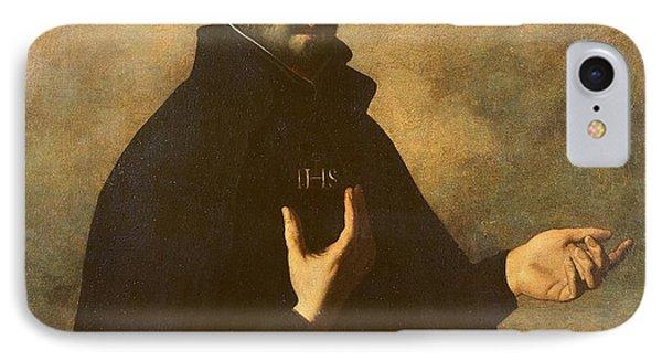 St.ignatius Loyola IPhone Case by Francisco de Zurbaran