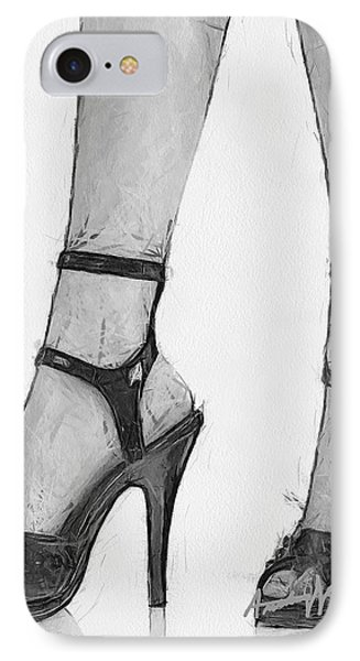 Stiletto Phone Case by Anthony Caruso