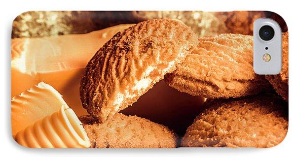 Still Life Bakery Art. Shortbread Cookies IPhone Case