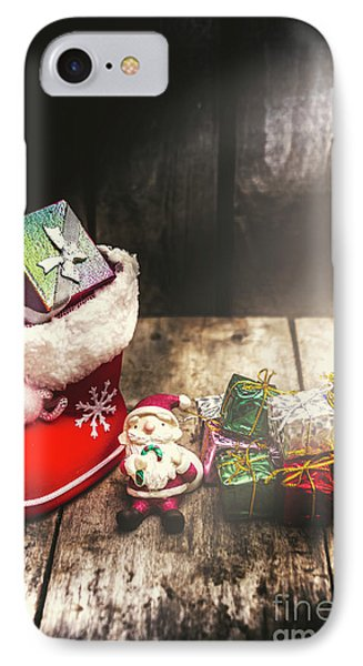 Still Life Christmas Scene IPhone Case by Jorgo Photography - Wall Art Gallery