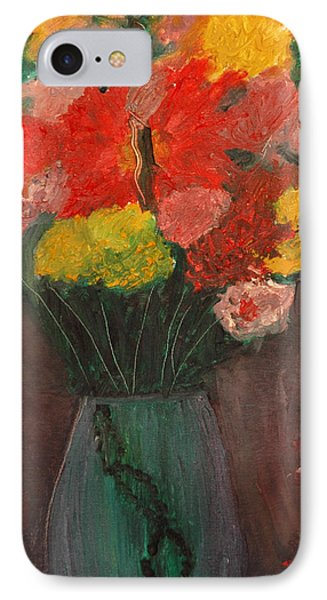 Flowers Still Life IPhone Case by Jose Rojas