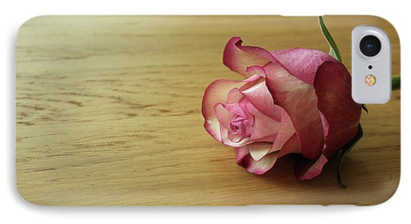 Still Life, Macro Photo Of Pink Rose Flower Phone Case by Pixelshoot Photography