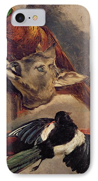 Magpies iPhone 7 Case - Still Life Of Game by Theodore Gericault