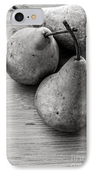 Still Life Of Three Pears IPhone Case by Edward Fielding