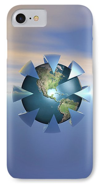 Still Life On Earth IPhone Case by Phil Perkins