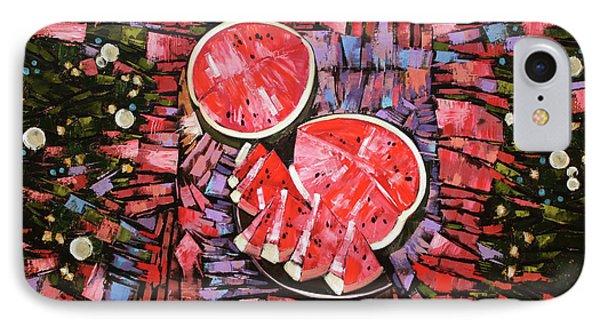 IPhone Case featuring the painting Still Life. The Taste Of Summer. by Anastasija Kraineva