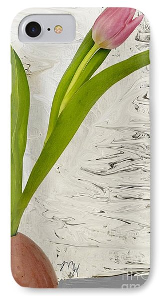 Still Life Tulip IPhone Case by Marsha Heiken