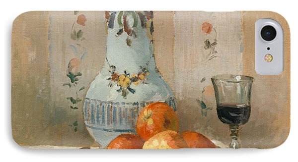 Still Life With Apples And Pitcher, 1872  IPhone Case