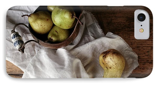 Still-life With Arrangement Of Pears  IPhone Case
