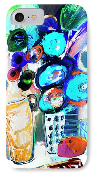 Still Life With Blue Flowers IPhone Case