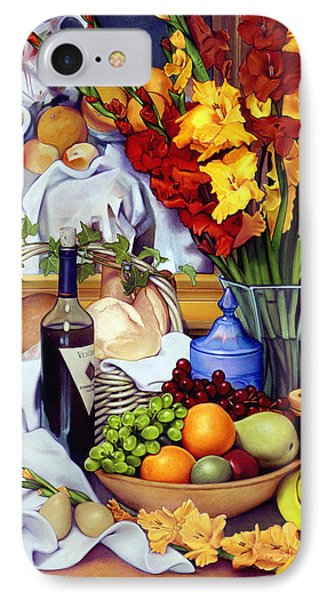 Still Life With Cezanne IPhone Case by Patrick Anthony Pierson
