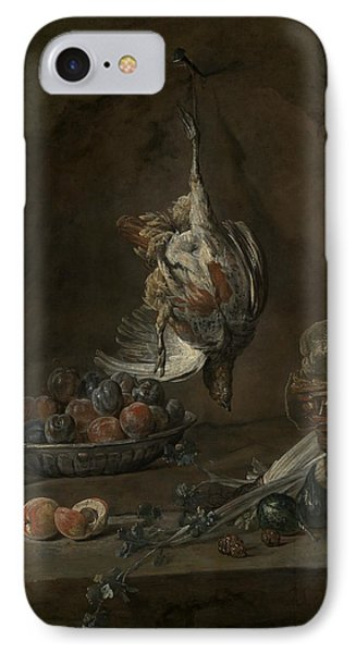 Still Life With Dead Pheasant IPhone Case by Jean-Baptiste-Simeon Chardin