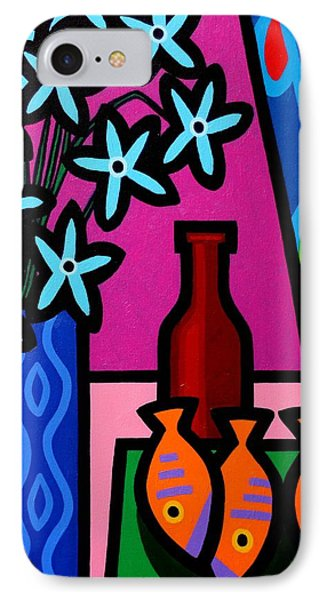Still Life With Egyptian Curtain  IPhone Case by John  Nolan