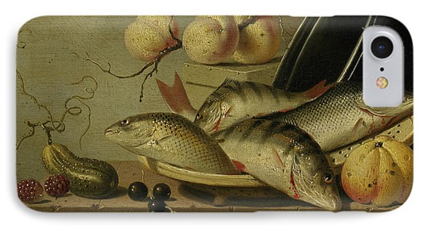 Still Life With Fish And Fruits IPhone Case