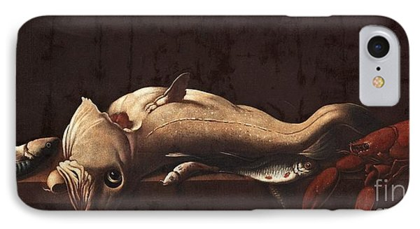 Still Life With Fish And Lobster IPhone Case