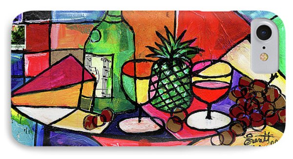 Still Life With Fruit And Wine #303 IPhone Case