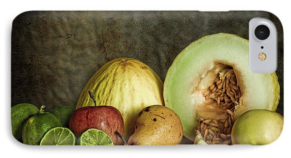Still Life With Fruit IPhone Case by Stefan Nielsen