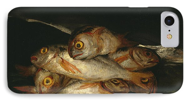 Still Life With Golden Bream IPhone Case