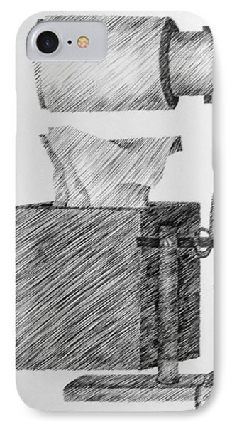 Still Life With Lamp And Tissues Phone Case by Michelle Calkins