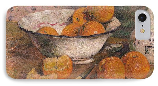 Still Life With Oranges Phone Case by Paul Gauguin
