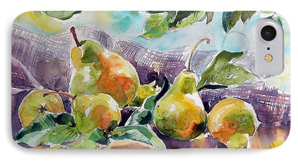 Still Life With Pears IPhone Case by Kovacs Anna Brigitta