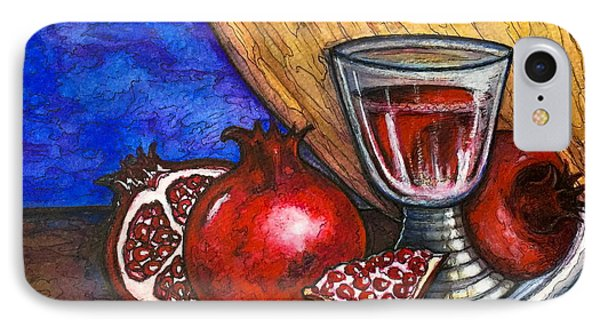 Still Life With Pomegranate And Goblet 1 IPhone Case