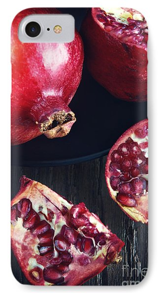 Still Life With Pomegranates IPhone Case by HD Connelly