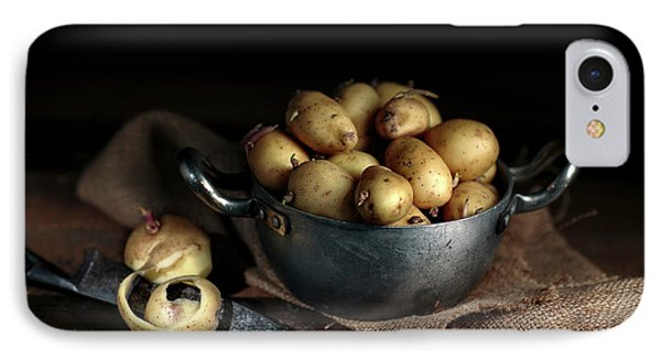 Potato iPhone 7 Case - Still Life With Potatoes by Nailia Schwarz