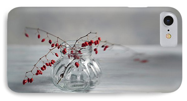 Still Life With Red Berries IPhone Case by Nailia Schwarz