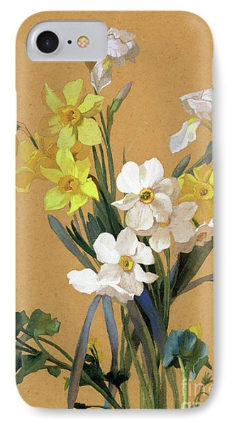 Still Life With Spring Flowers IPhone Case by Jean Benner