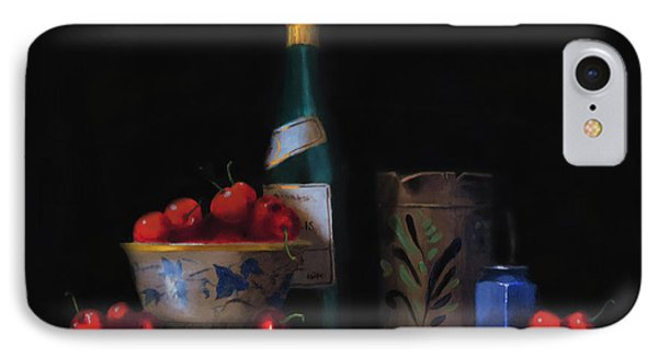 IPhone Case featuring the painting Still Life With The Alsace Jug by Barry Williamson