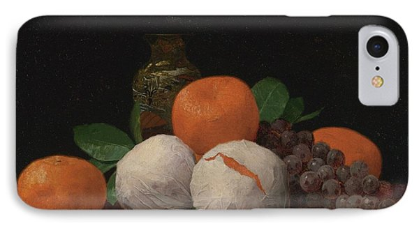 Still Life With Wrapped Tangerines IPhone Case by Celestial Images