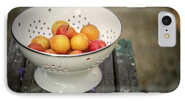 Still Life With Yellow Plums  IPhone Case