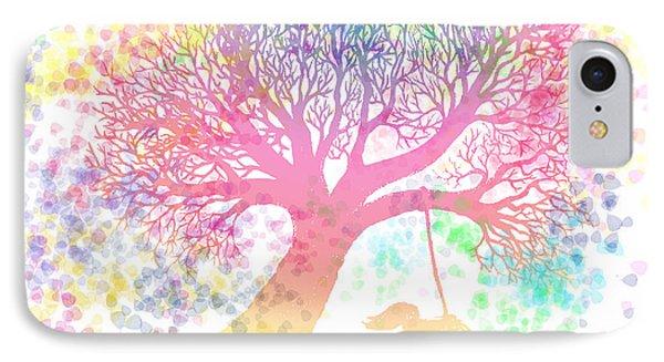 Still More Rainbow Tree Dreams 2 Phone Case by Nick Gustafson