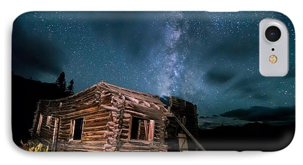 Still Night At Old Cabin IPhone Case by Michael J Bauer