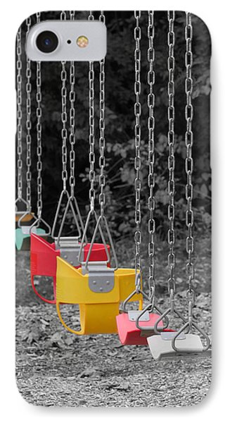 Still Swings IPhone Case by Richard Reeve
