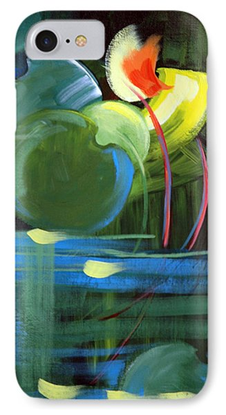 IPhone Case featuring the painting Still Water by Suzanne McKee