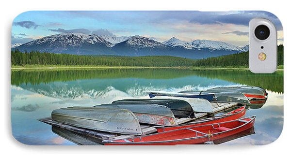IPhone Case featuring the photograph Still Waters At Lake Patricia by Tara Turner