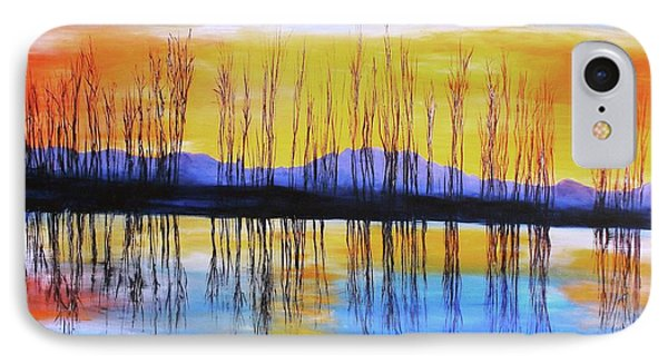 Still Waters From The Water Series  IPhone Case by Donna Dixon