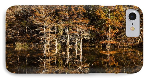 IPhone Case featuring the photograph Still Waters On Beaver's Bend by Tamyra Ayles