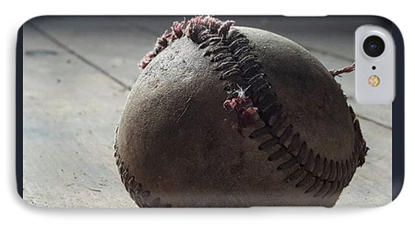 Baseball Still Life IPhone Case by Andrew Pacheco