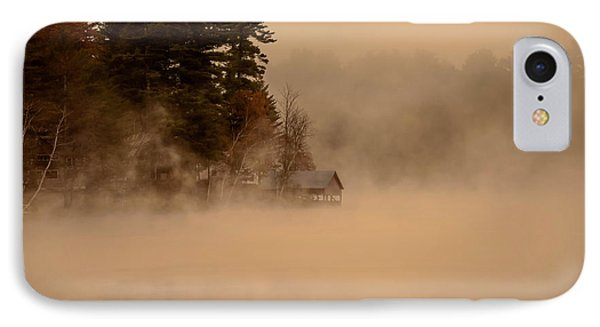 Stillness Of Autumn IPhone Case by Sherman Perry