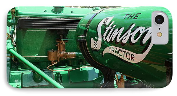 IPhone Case featuring the photograph Stinson Steam Tractor by Scott Kingery