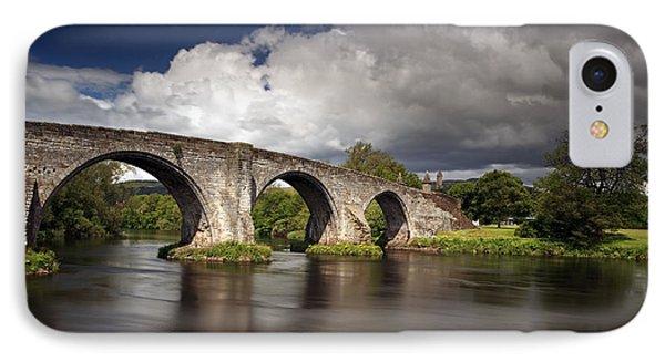 Stirling Bridge IPhone Case by Grant Glendinning