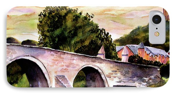 IPhone Case featuring the painting Stirling Bridge by Marti Green
